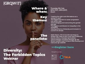 diversity: the forbidden topics webinar